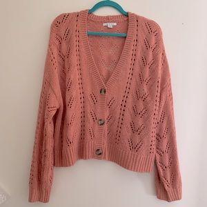 American Eagle sweater cardigan sz XL